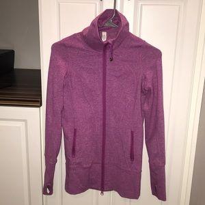 pink lululemon zip up jacket